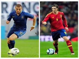 Video Hasil Prancis vs Spanyol Kualifikasi Piala Dunia 2014, 27 Maret 2013