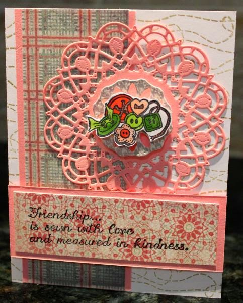 ODBD Soulful Stitches Paper Collection, ODBD Sewn With Love, ODBD Quilts, ODBD Stitch Background, ODBD Custom Doily Dies, Card Designer Rita Kegg