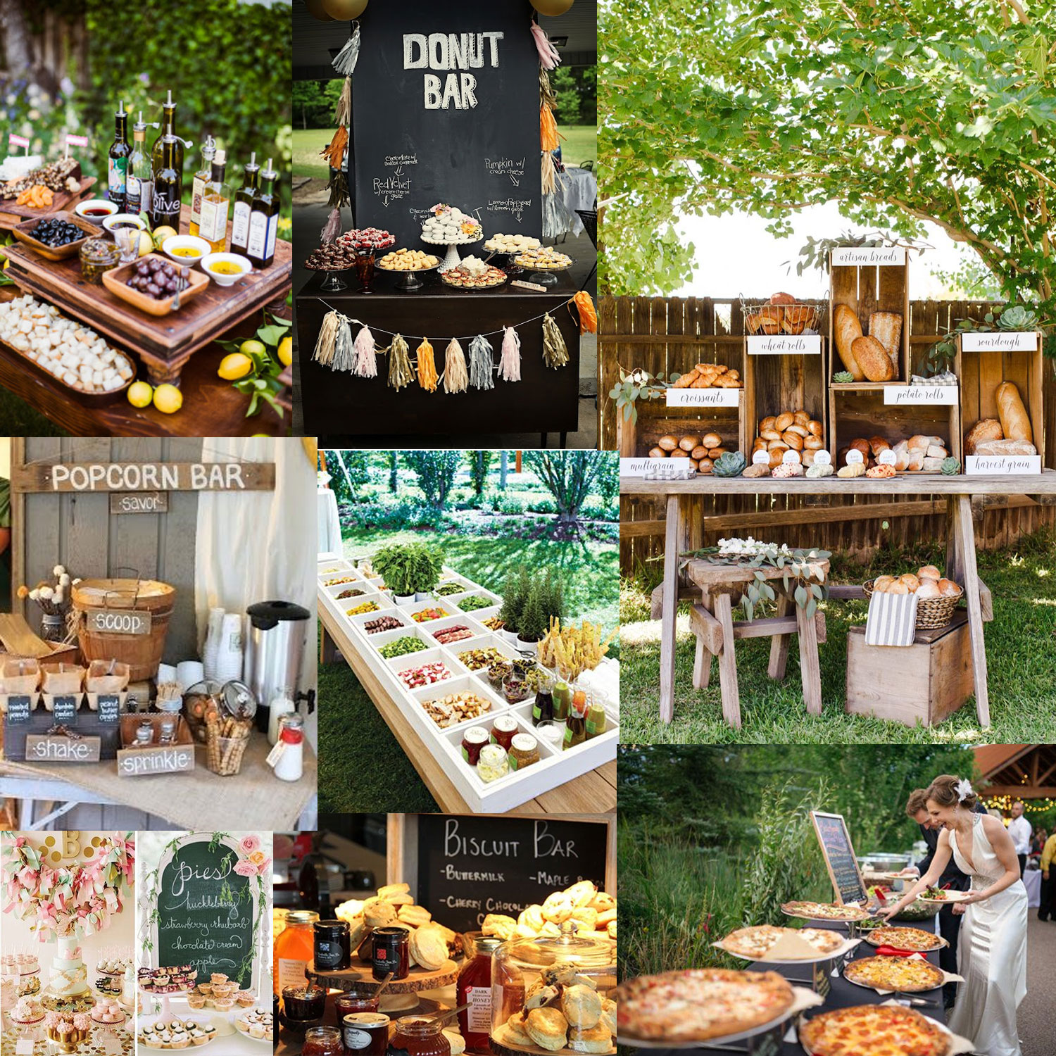 2016 wedding trends my predictions for the most exciting for Food bar trends