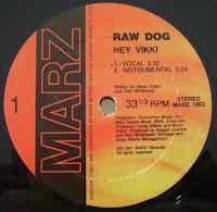 Raw Dog - This Jam-Hey Vikki (Vinyl, 12'' 1991)(Marz Records)
