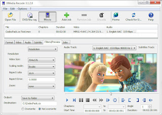 download XMedia Recode 3.1.6.9 Video Converter