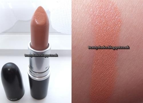 Mac Peachstock Lipstick Review and Lip Swatch - Beautyshades