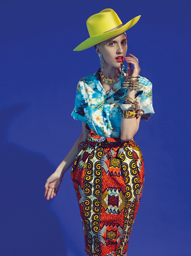 Stella Jean Spring Summer 2013 collection/ kitenge skirts on ciaafrique