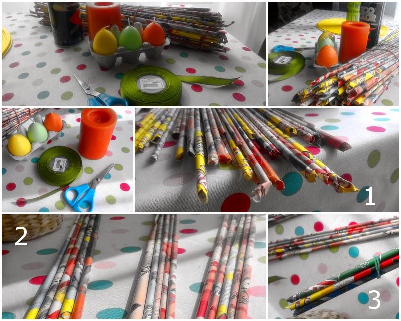 diy - dekoracja stołu