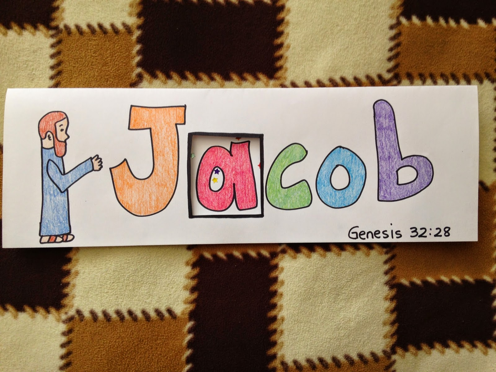 Children 39 s bible lessons lesson jacob goes home for Jacob and esau crafts