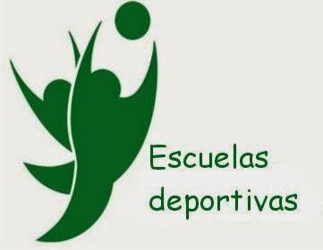 ESCUELAS DEPORTIVAS CURSO 2014/2015