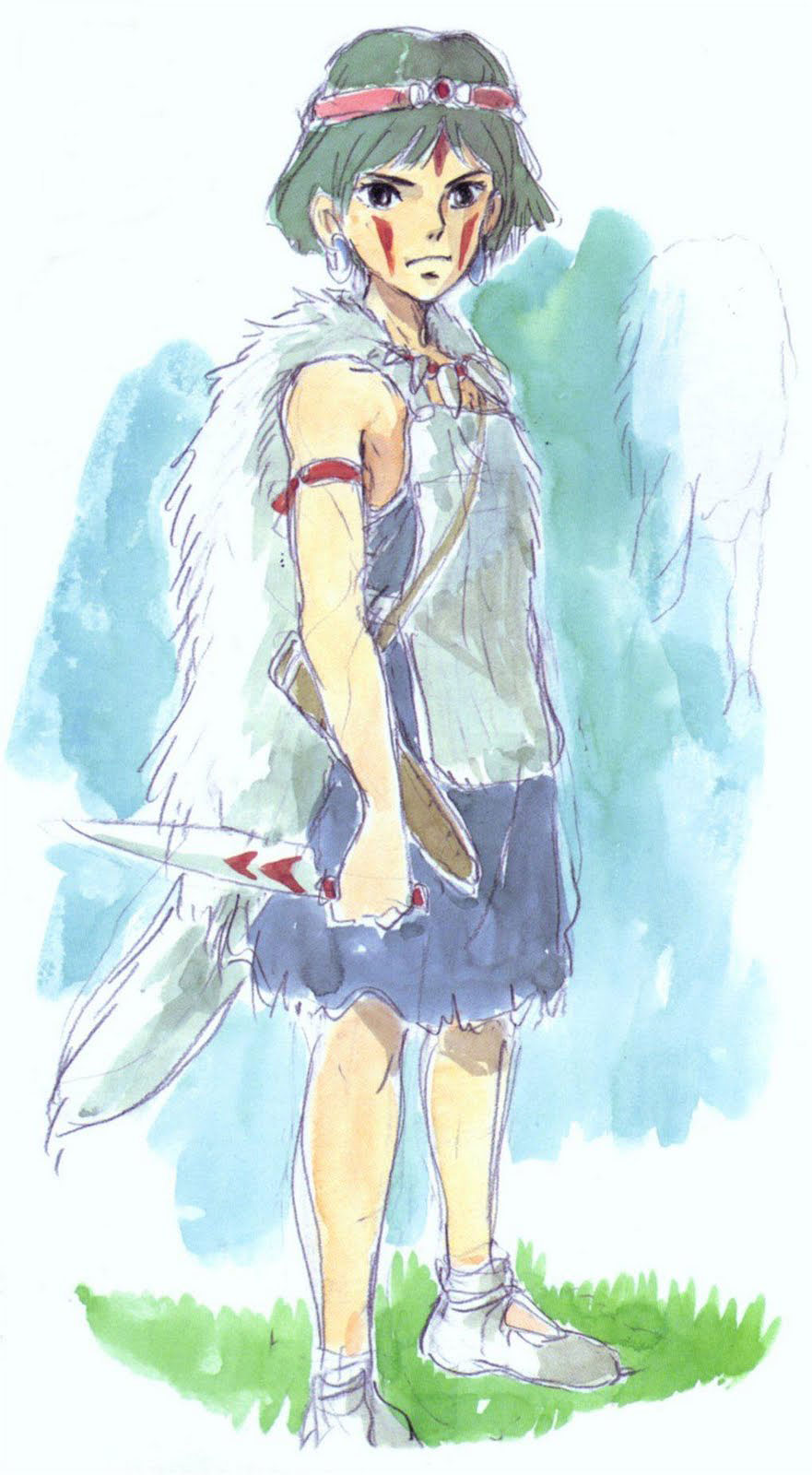 Living Lines Library: もののけ姫 / Princess Mononoke (1997 ...