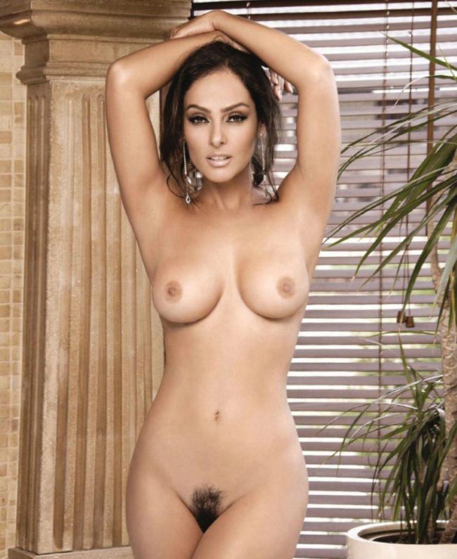 Mujer sin grasa desnuda miniatura