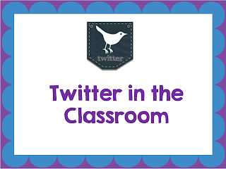 Guest blog post from Kristy from the 2 Peas and a Dog blog and she is talking about Twitter in the Classroom today.