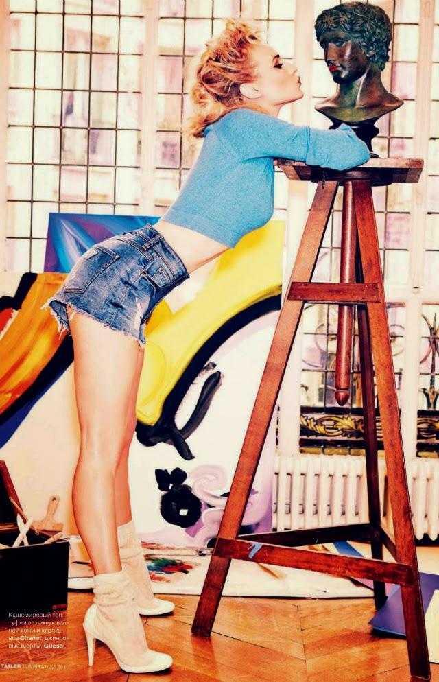 Diane Kruger en Tatler Magazine