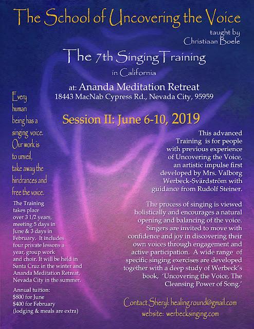 7th Foundational Singing Training