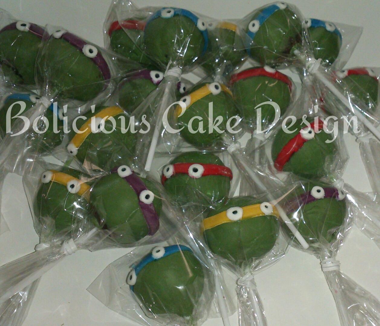 Bolicious cake design cake pops cookie pops push cake pops for Cobertura para cake pops