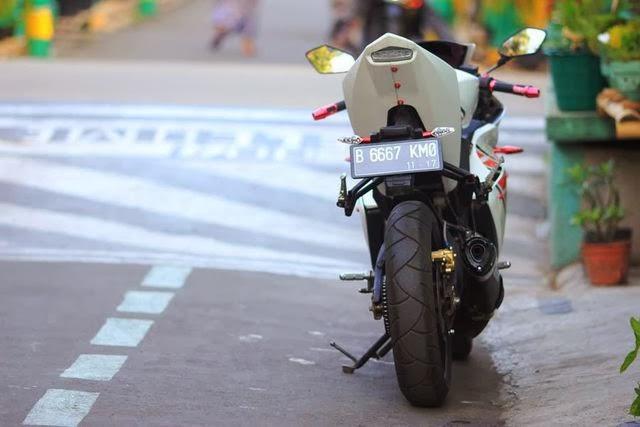 Harga Motor Yamaha Vixion Modif