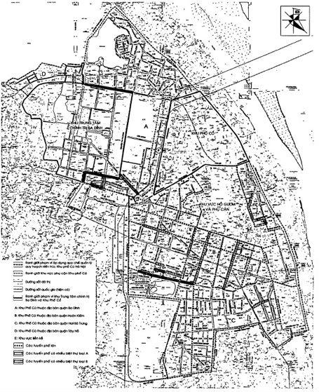 Bản đồ khu phố hà nội
