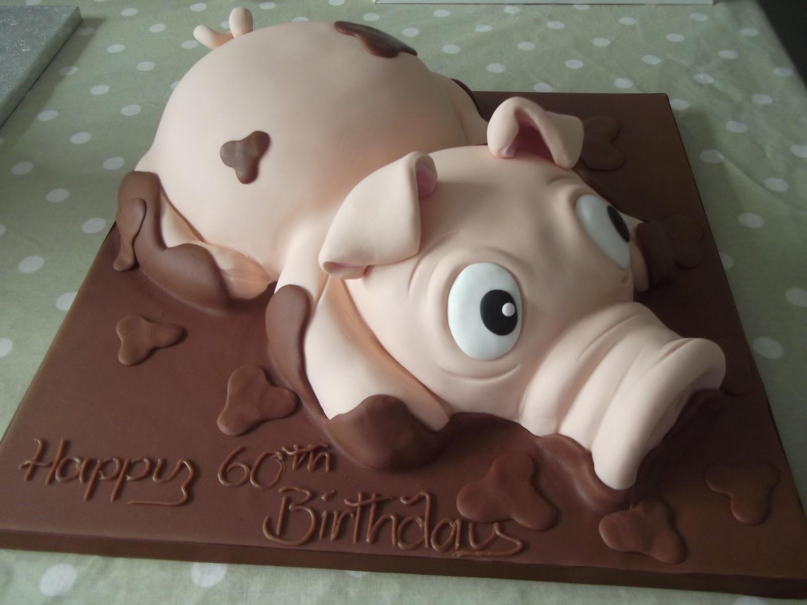 Cakes By Karen: Pig in Mud Cake!