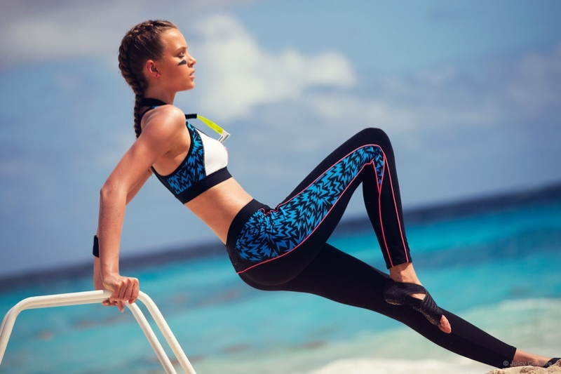 Josephine Skriver hits the beach for Juicy Couture's Summer 2015 Lookbook