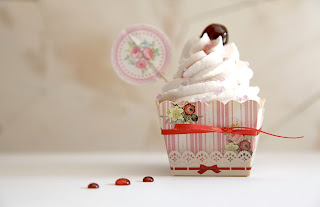 cupcake all'amarena