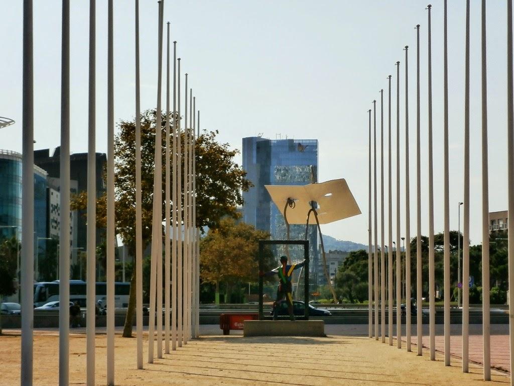 Plaça dels Voluntaris Olímpics, Barcelona -AcericoPop-
