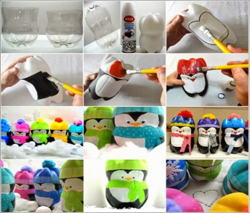 Home decor 15 diy decorating ideas with recycled plastic for Plastic bottle ideas