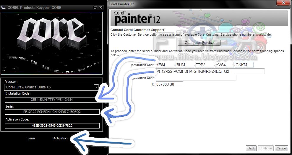 corel painter 12 keygen crack codes