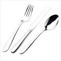 18/0 Klaremont pattern cutlery range