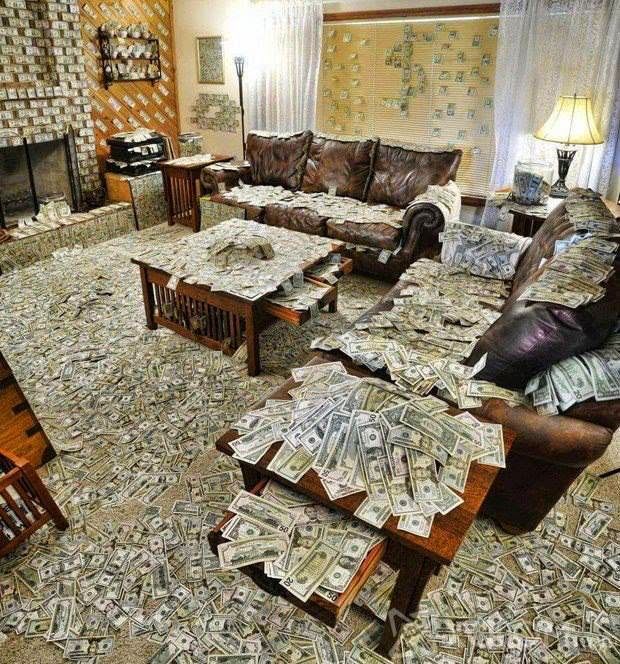 Alot Of Money In Room Hd Wallpapers Download Free