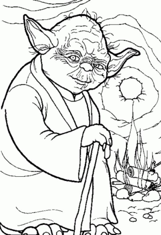 Star Wars Coloring Pages title=
