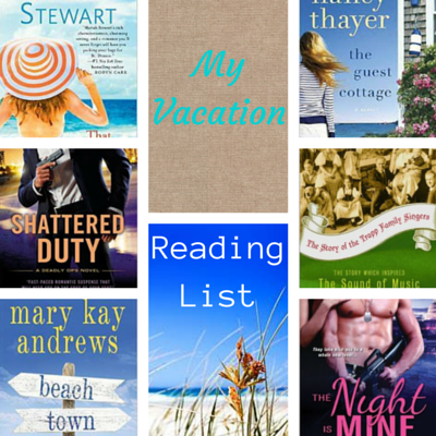 summer reading list, vacation reading list, reading list
