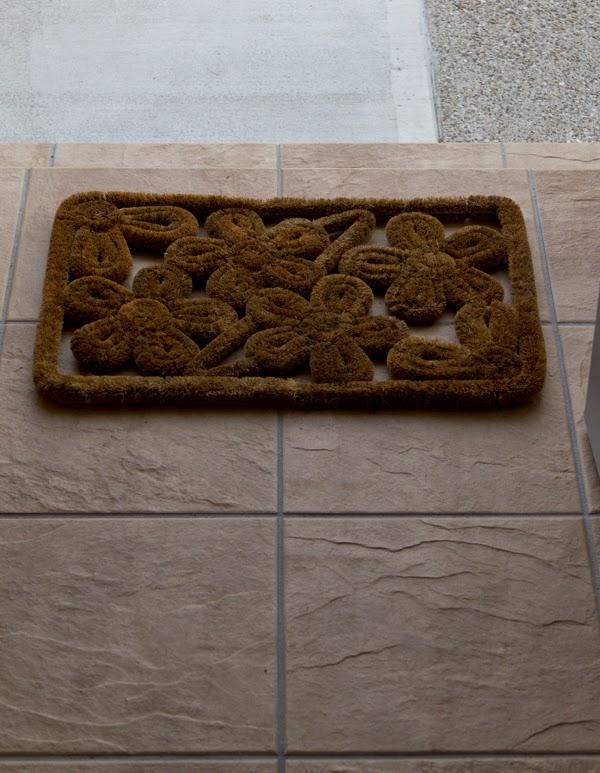 レデッカー お花の玄関マット