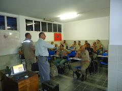 REUNIÃO OS ALUNOS DO (CCVE) E COM O CHEFE DO ESTADO MAIOR DO CBMPE. foto 03