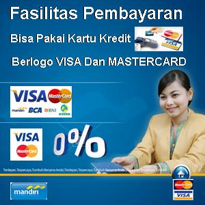 Bisa Pakai Kartui Kredit / Debit