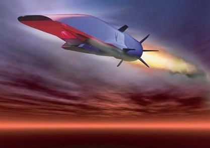 hypersonic Waverider aircraft of U.S.