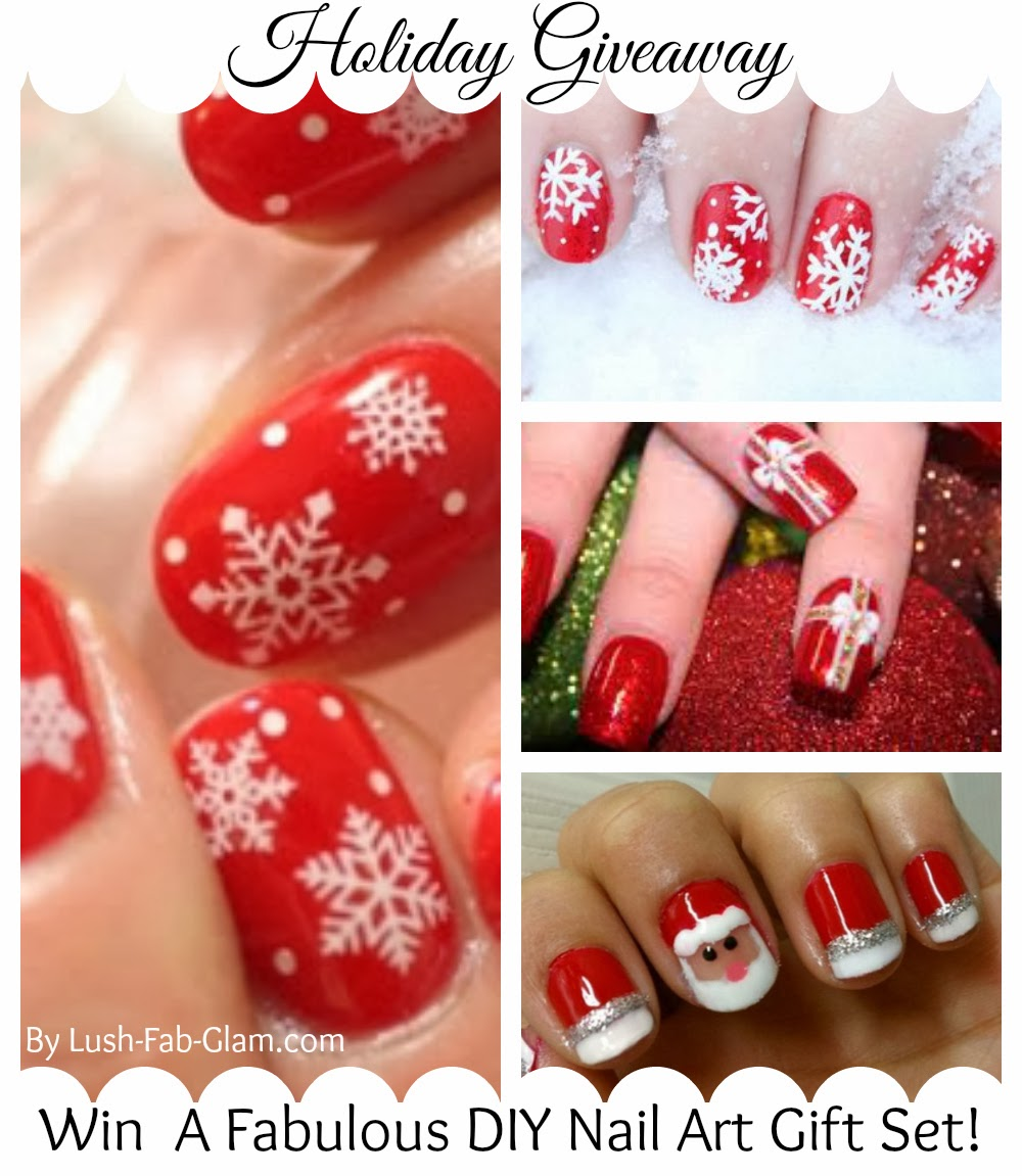 Featured Post: Win A Nail Holiday Nail Art Gift Set!