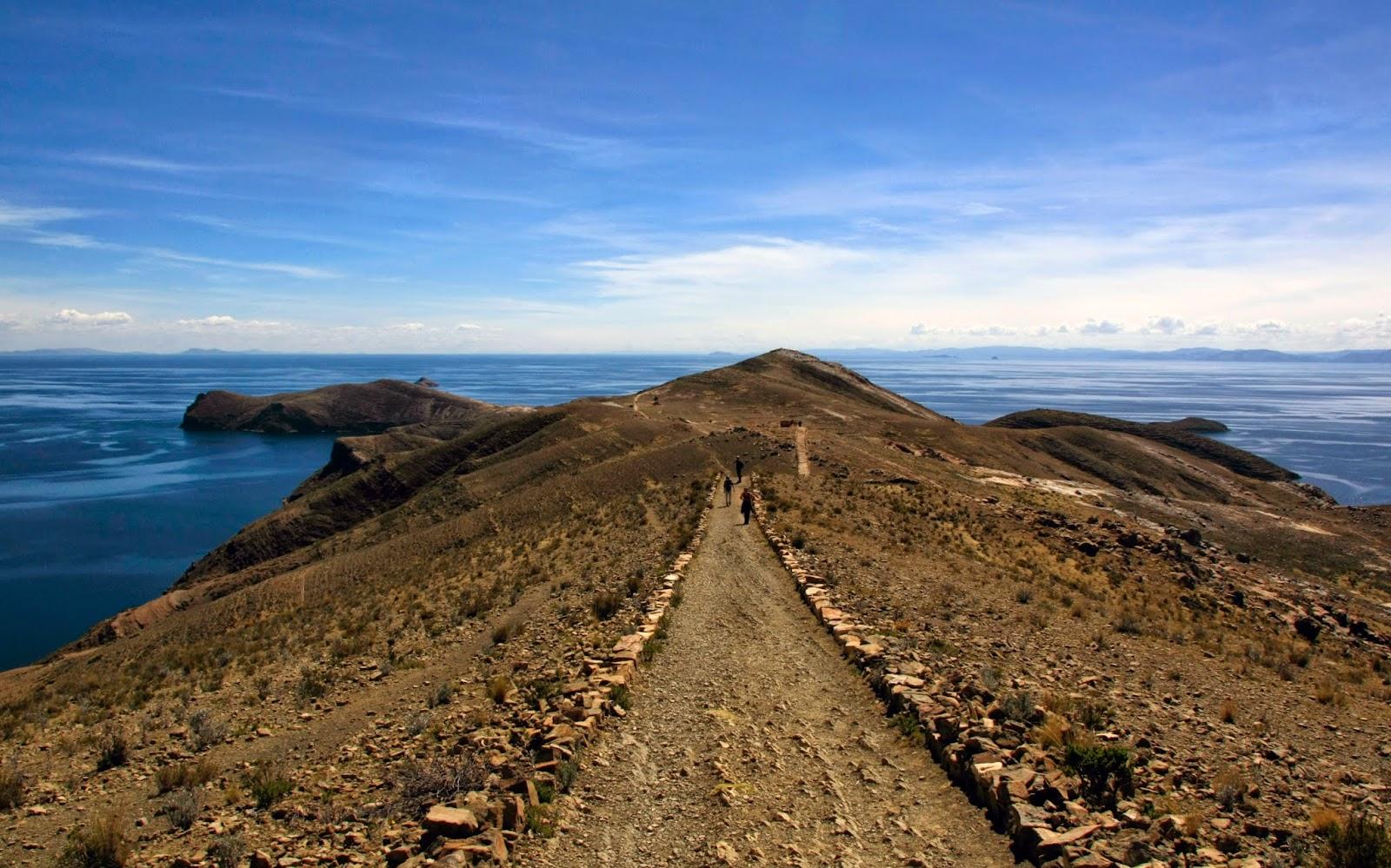 Lago Titicaca desde Isla del Sol (2)