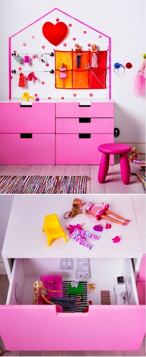 Cube Shelves Doll Houses: Dollhouse storage cube. Diy ...