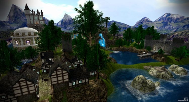 Review of The Order of Avalon, a role-play scripted adventure for Second-life.
