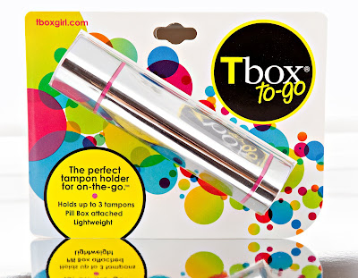 Tbox to-go, tampon holder, discreet, pill box