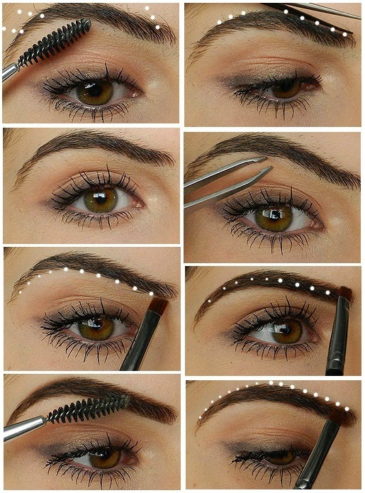 How To Shape Your Eyebrows Perfectly Entertainment News Photos