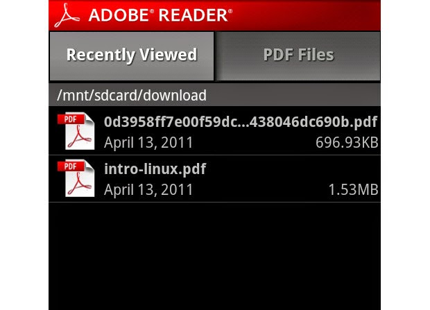 Adobe Reader Android Apk resimi 8