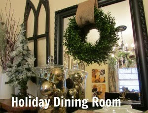 Rustic & Refined Holiday Dining Room
