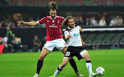 AC Milan 2 - 0 Viktoria Plzen (1)