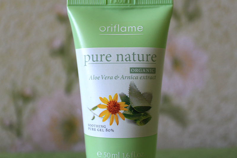 Oriflame, Soothing Gel, Успокаивающий гель, Review, Nature Pure Organic