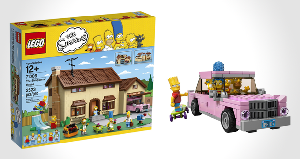 The simpsons house made of lego cool sh t you can buy for Cool things to buy for your house