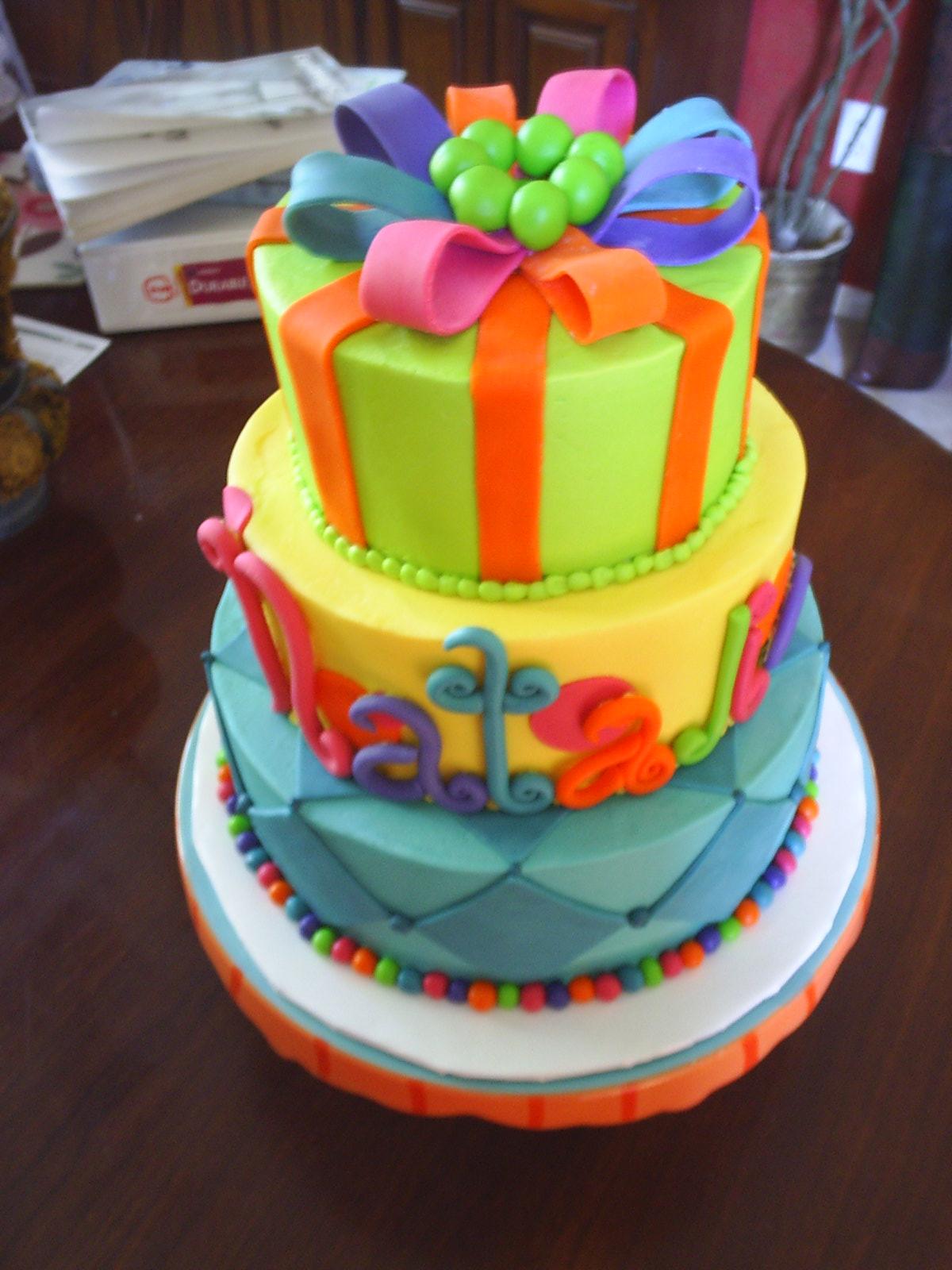 Cakes By Terri And Cameron Natalies Birthday Cake