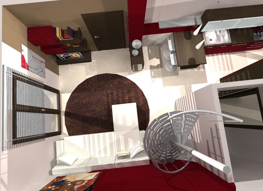 Paredes en espacios peque os ideas para decorar dise ar for Espacios pequenos en casa