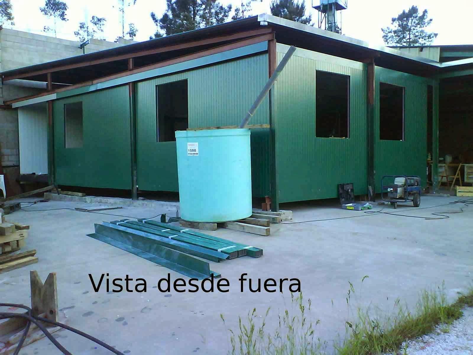 Como construir una casa aislada barata y energeticamente for Caseta chapa segunda mano