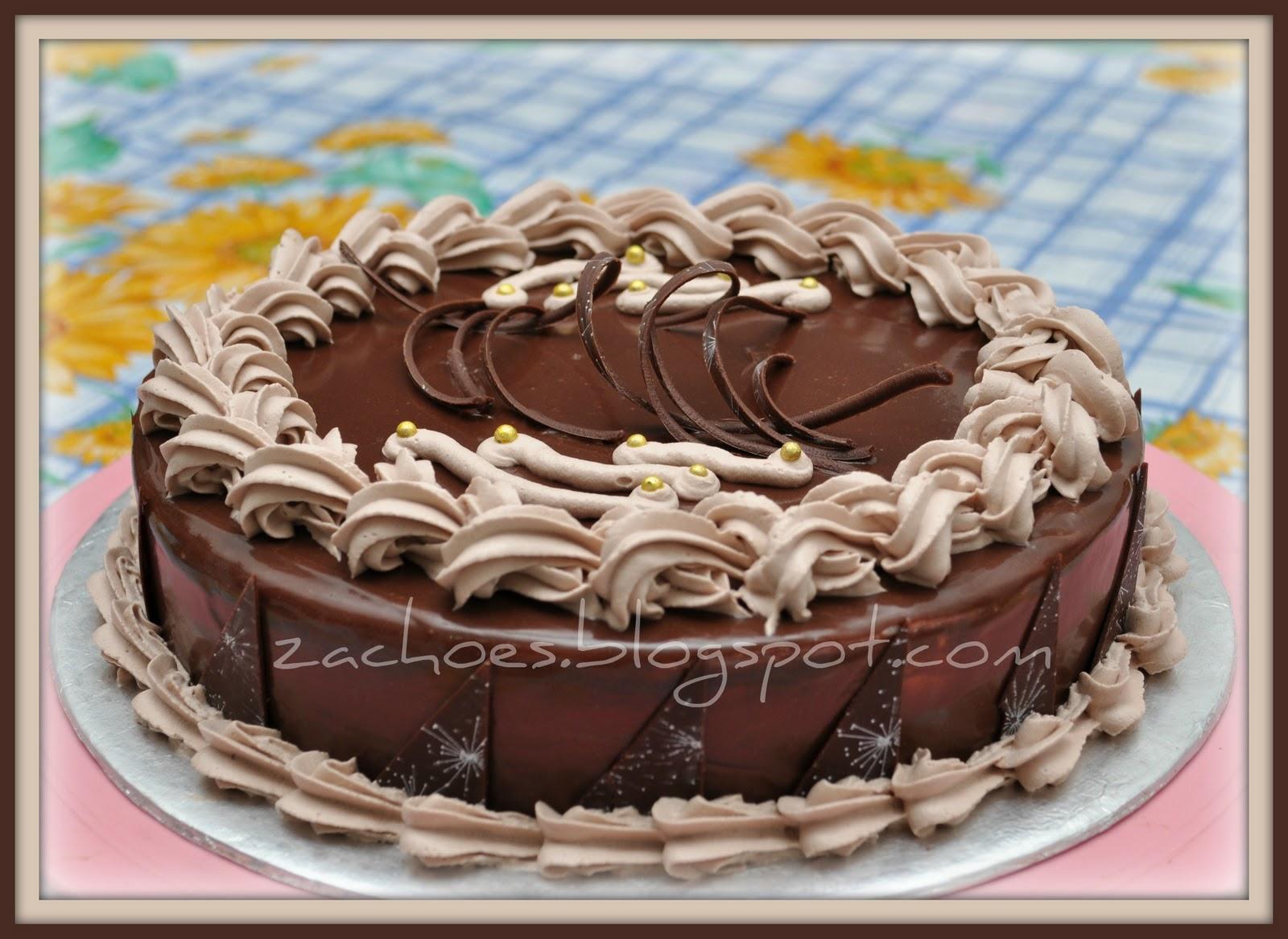 Akuzack Cakery Resepi American Chocolate Cake