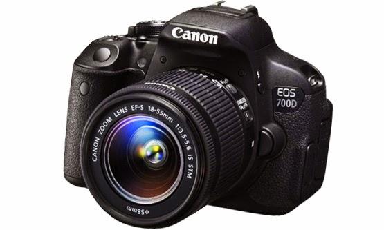 Daftar Harga dan Spesifikasi Kamera DSLR Canon EOS 700D Terbaru