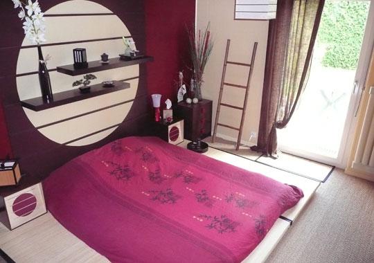 Bricolage e decora o ideias para quarto de casal com for Deco chambre adulte zen