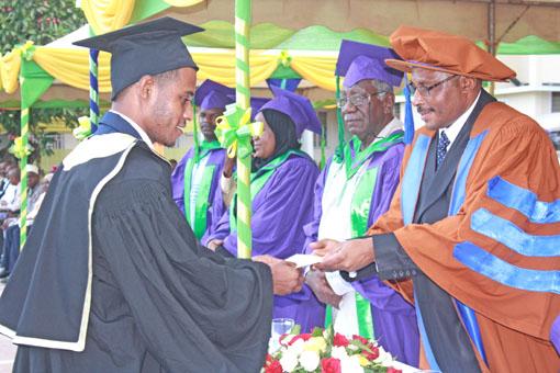 Mahafali ya Chuo cha Utumishi wa Umma (IPA), Zanzibar